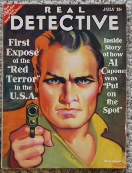 REAL DETECTIVE - July/1931 (Volume-23 #1? - Al Capone Cover & Story;