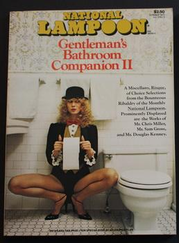 NATIONAL LAMPOON - THE GENTLEMAN'S BATHROOM COMPANION II (Volume 2 #3; Summer 1977);
