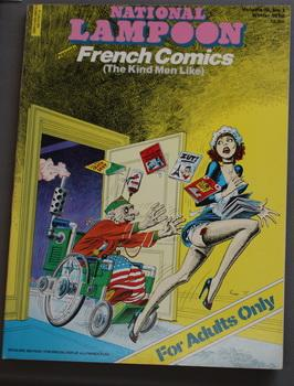 NATIONAL LAMPOON PRESENTS FRENCH COMICS (The Kind Men Like - For Adults only) ( Volume 3 #1; Wint...