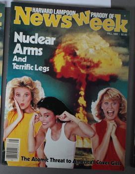 NEWSWEEK - HARVARD LAMPOON PARODY OF -: Harvard Lampoon (editors)