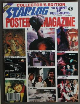 STARLOG POSTER MAGAZINE - Volume 1 - 10 Full-Color Foldout Posters from the Files of Starlog Maga...