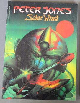 PETER JONES SOLAR WIND. - Full of Colorful Posters and Pin-ups