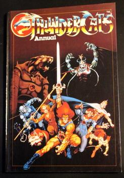 THUNDERCATS 1986 Annual (Published in December/1985; UK British Hardcover);