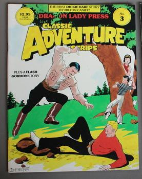 Dragon Lady Press: Classic Adventure Strips #3: Dickie Dare, Flash Gordon
