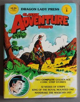 CLASSIC ADVENTURE STRIPS Magazine #1 = January/1985.: Gary, Jim; Falk,