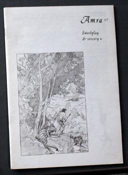 AMRA Volume-2 #47 / August 1968 (Swords: Robert E. Howard;