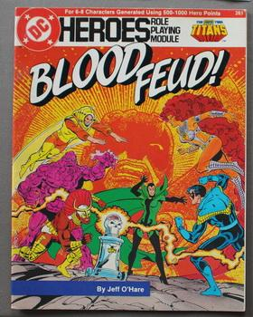 Blood Feud! (DC Heroes Role Playing Module Game ; RPG Role-Playing Game; Role & Playing Game #203...