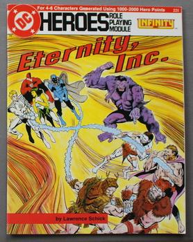 Eternity, Inc. - Infinity Inc. (DC Heroes Role Playing Module Game ; RPG Role-Playing Game; Role ...
