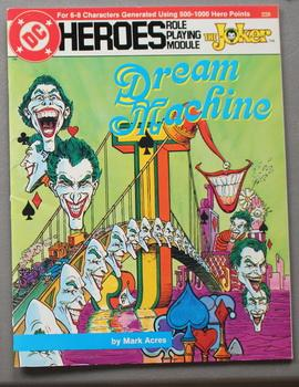 Dream Machine - The Joker. (DC Heroes Role Playing Module Game ; RPG Role-Playing Game; Role & Pl...