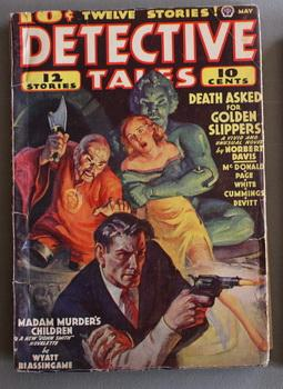 DETECTIVE TALES May 1939 (PULP Magazine) (Volume 17 #2; GGA Girl in BONDAGE & Oriental Threat cov...
