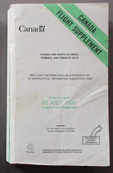 CANADA FLIGHT SUPPLEMENT - Canada and North: Natural Resources Canada