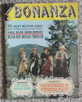 Official Bonanza Magazine Volume 1 Number 1 - Includes Special Section of 35 Great Bonanzaland So...