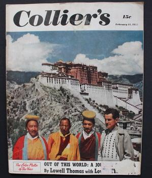 COLLIER?S magazine February 11, 1950 (with Report on the Barnhouse Effect = FIRST ever profession...