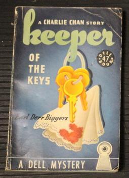 KEEPER OF THE KEYS. (Charlie Chan Murder: Biggers, Earl Derr.
