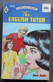 The English Tutor (#1174 in the Vintage HARLEQUIN Paperback Series; 1968 Edition )