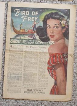 STAR WEEKLY NOVEL - BIRD OF PREY (STAR WEEKLY NOVEL DECEMBER 23 1950);