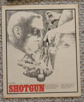 STAR WEEKLY Novel - SHOTGUN (STAR WEEKLY NOVEL NOVEMBER 16 1968);