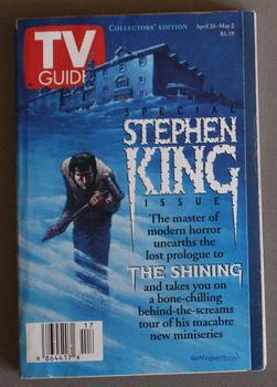 TV GUIDE -- 1997 APRIL 26 - MAY 2 (Tampa Bay Florida Edition) - STEPHEN KING SPECIAL ISSUE; with ...