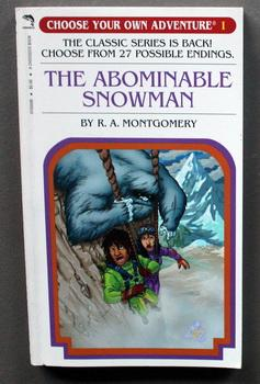 The Abominable Snowman - CHOOSE YOUR OWN ADVENTURE #1.