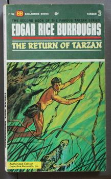 THE RETURN OF TARZAN. [Book Two /: Burroughs, Edgar Rice.