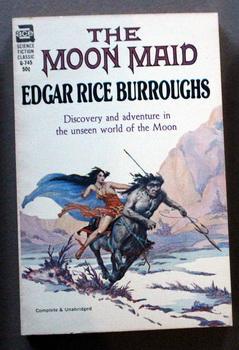 The Moon Maid Roy Krenkel, Jr. ART;;: Burroughs, Edgar Rice.