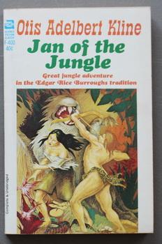 JAN OF THE JUNGLE (Lost Empire of: KLINE, OTIS ADELBERT.