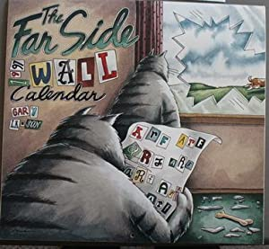 THE FAR SIDE 1997 WALL CALENDAR