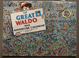 THE GREAT WALDO 1992 ADVENTURE CALENDAR - 1992 WALL CALENDAR.