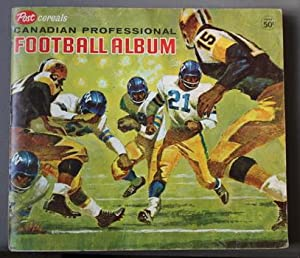 POST CEREALS CANADIAN PROFESSIONAL FOOTBALL ALBUM - 1963 ( 92/ 160 CARDS PRESENT; 58 Cards missing);