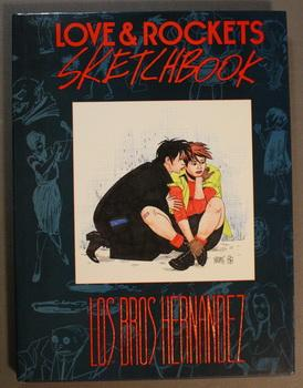Love & Rockets Sketchbook - # 295/750 Signed & Numbered Copy Edition (Hardcover ART Book)