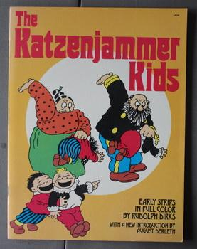 The Katzenjammer Kids: Early Strips in Full Color - Front cover of adult spanking children. .
