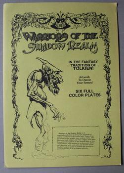 WARRIORS OF THE SHADOW REALM - in the Fantasy Tradation of Tolkien; - Six Full Color Plates;; Mar...