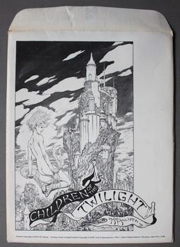 CHILDREN OF THE TWILIGHT PORTFOLIO MICHAEL KALUTA 1979 - 4 Color Prints - ADULT MATERIAL.