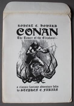 CONAN Tower Of The Elephant 1977 Portfolio by Stephen Fabian 9 Plates (Autographed & Limited #391...