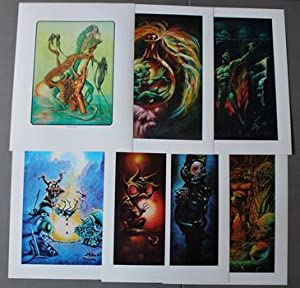 Kenneth Smith Set of 6 prints/ Portfolios - Swamp Tryst from 1975 . - Images from Phantasmagoria ...