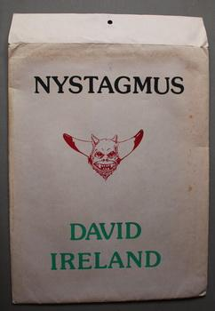 DAVID IRELAND - NYSTAGMUS PORTFOLIO (1975) - Signed by Ireland; Limited to #35/500 copies) - 1 co...