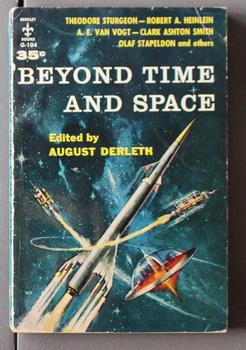 BEYOND TIME AND SPACE. With 8 short stories(Berkley Books # G-104 );
