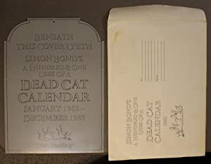 SIMON BOND'S A HUNDRED & ONE USES OF A DEAD CAT CALENDAR 1983.