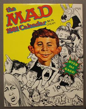 THE MAD 1981 CALENDAR. - Wall Calendar: Sergio Aragones, Dave