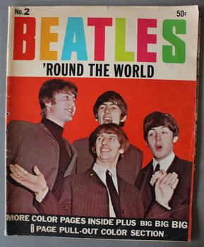 BEATLES 'ROUND THE WORLD #2; (Summer/1964);