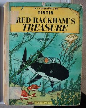 RED RACKHAM'S TREASURE. (The Adventures of TINTIN: HERGE. (Translated By;