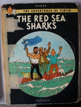 THE RED SEA SHARKS. (The Adventures of: HERGE. (Translated By;