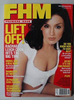 FHM (For Him Magazine) - Premiere Issue; March/April 2000: Rachel Lee Cook Cover & Pictoriial, Su...