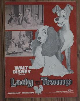 WALT DISNEY PRESENTS LADY AND THE TRAMP - 1971 RELEASE PRESSBOOK