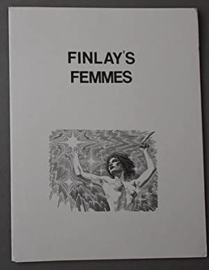 FINLAY'S FEMMES .( Virgil Finlay Portfolio with 8 B&W Prints; Limited to 1000 copies).