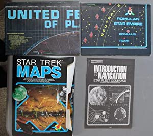STAR TREK MAPS - The Navigational Charts of the Five-year Voyage of the Starship Enterprise.