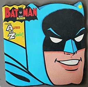 Batman and Robin From Alfred to Zowie! - 1966 - Vintage Kids Book (Goldkey Book # 5953 )with Appe...