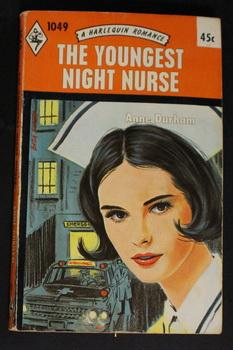 THE YOUNGEST NIGHT NURSE. ((1966; (Book #1049 in the Vintage Harlequin Paperbacks series)