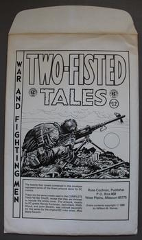 Two-Fisted Tales - War and Fighting Men - EC Print Portfolio; (contains 24 Prints in envelope)