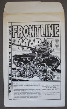 FRONTLINE COMBAT - War and Fighting Men - EC Print Portfolio; (contains 15 Prints in envelope)